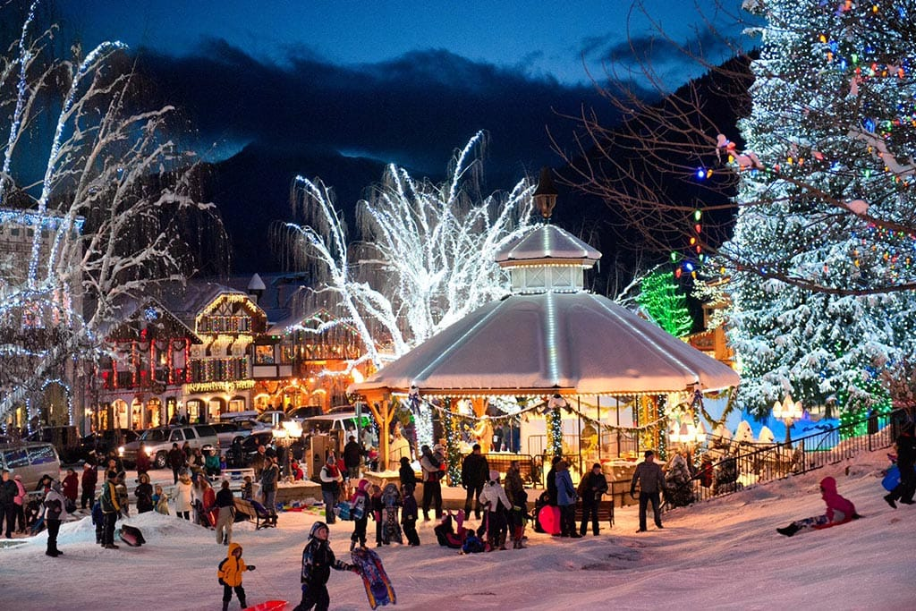 Leavenworth Christmas Lights Festival