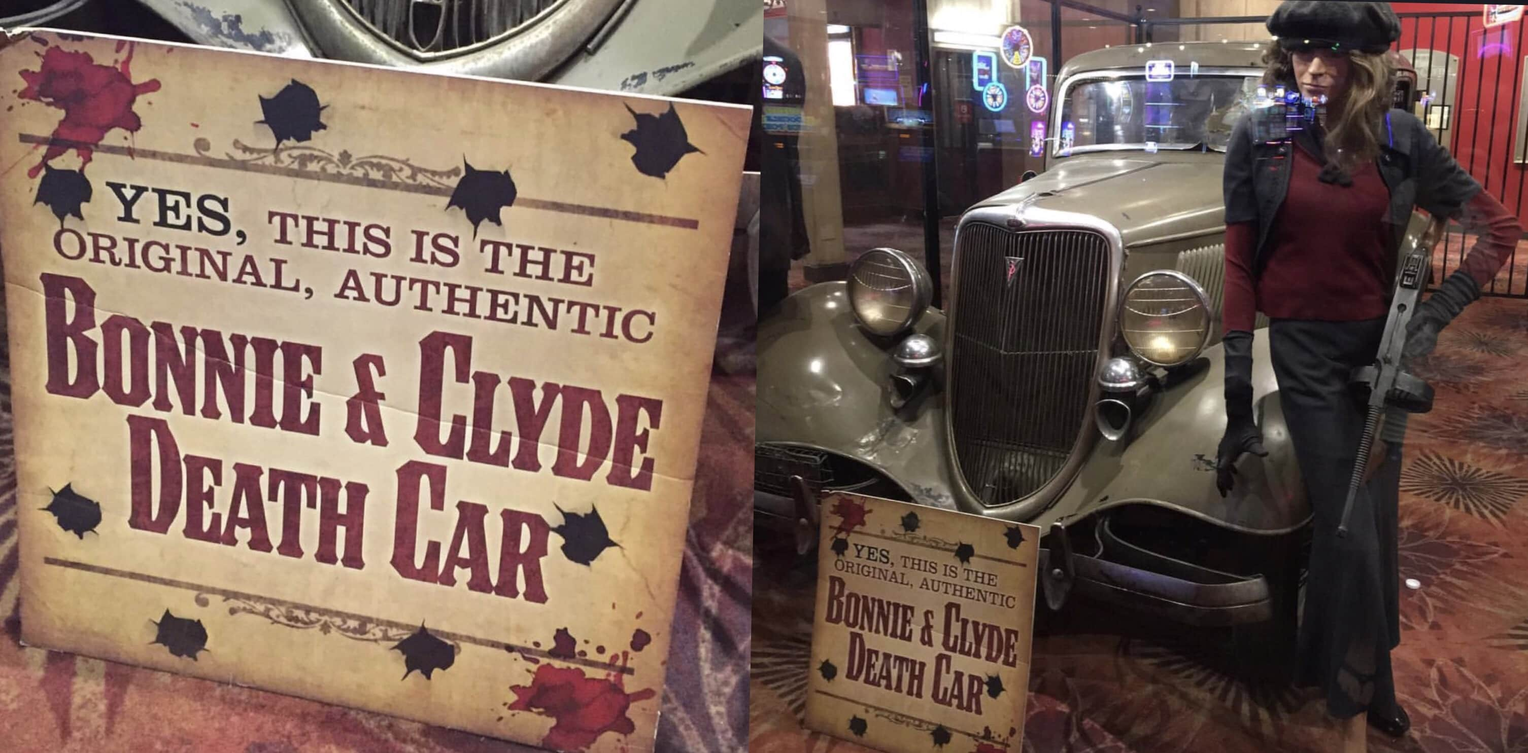Bonnie and Clyde Car, Las Vegas Guide