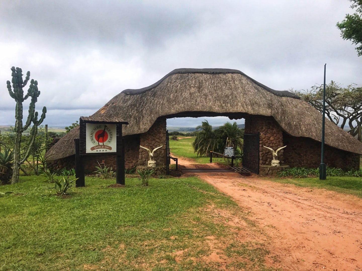 Visiting Gwahumbe Game Reserve and Spa in Kwa-Zulu Natal, South Africa