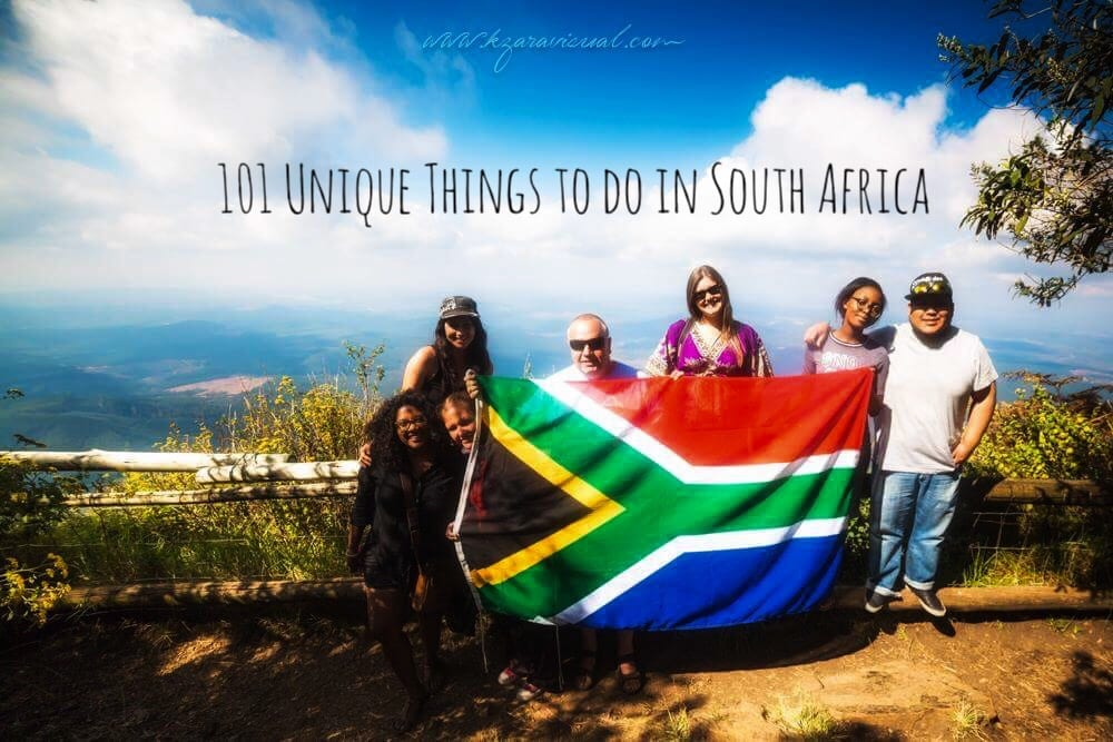 101 amazing things to do in South Africa