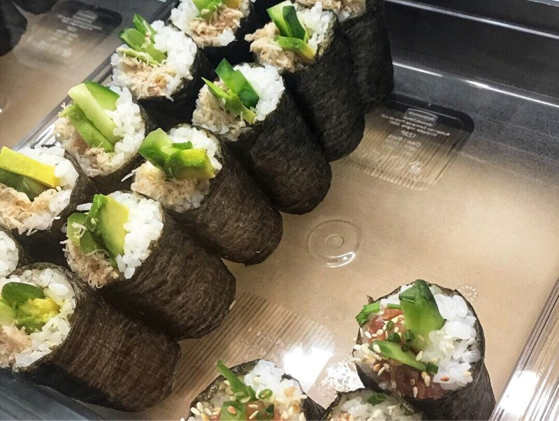 Maki Sushi Rolls, Cork, English Market