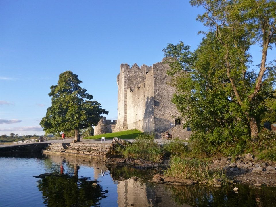 Ross Castle on the shore of Lough Leane, Killarney, Co.Kerry