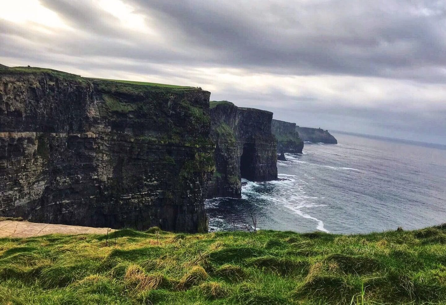 Exploring the Cliffs of Moher and Galway