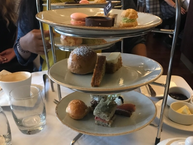 Afternoon Tea at Fota Island Resort, Cork, Ireland