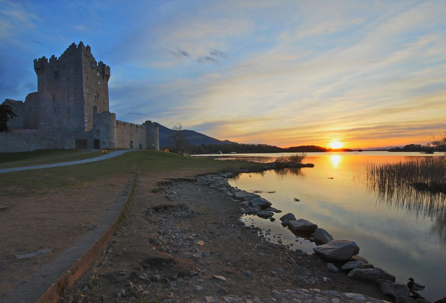 The Ring of Kerry: Ross Castle, Kerry