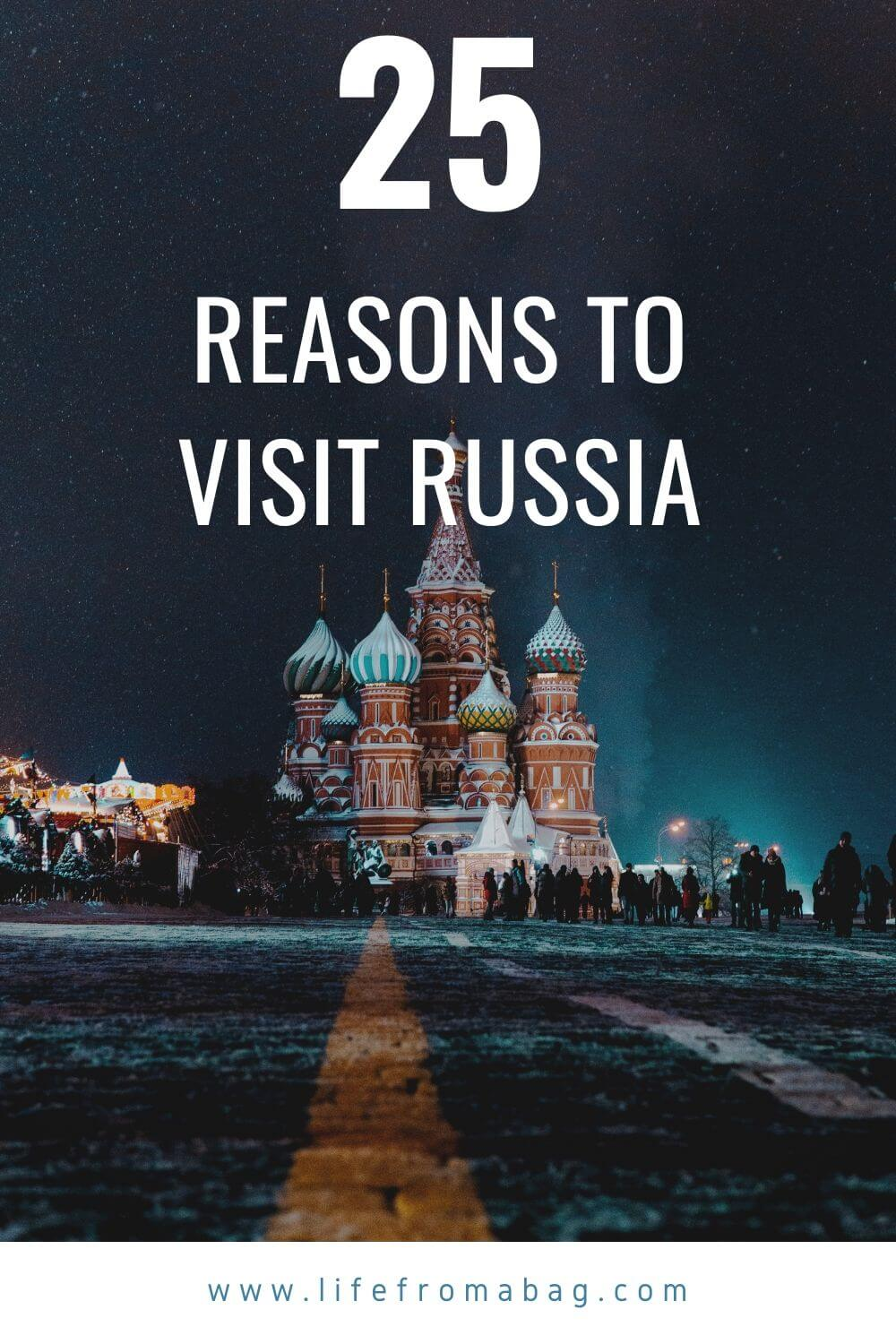 visiting Russia