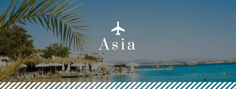 Destinations for solo female travel in Asia