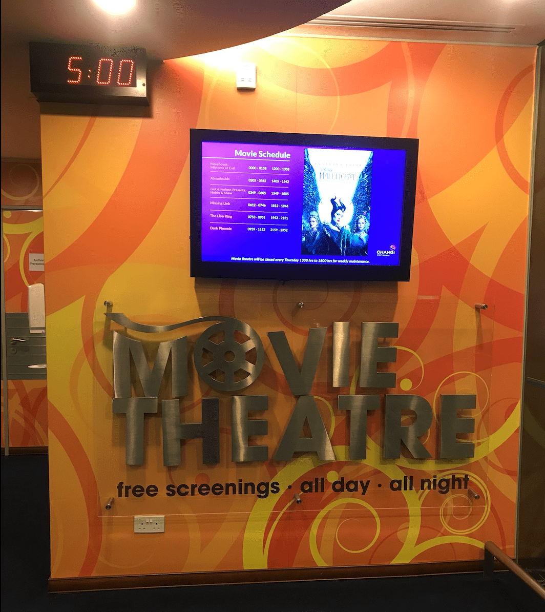 Cinema at Changi Airport