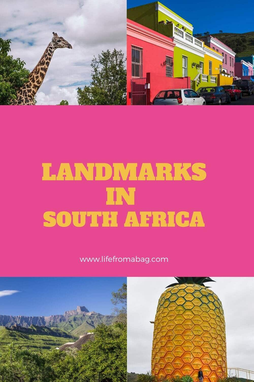 Landmarks in South Africa