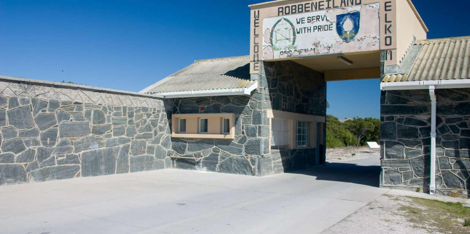 Landmarks in South Africa - Robben Island