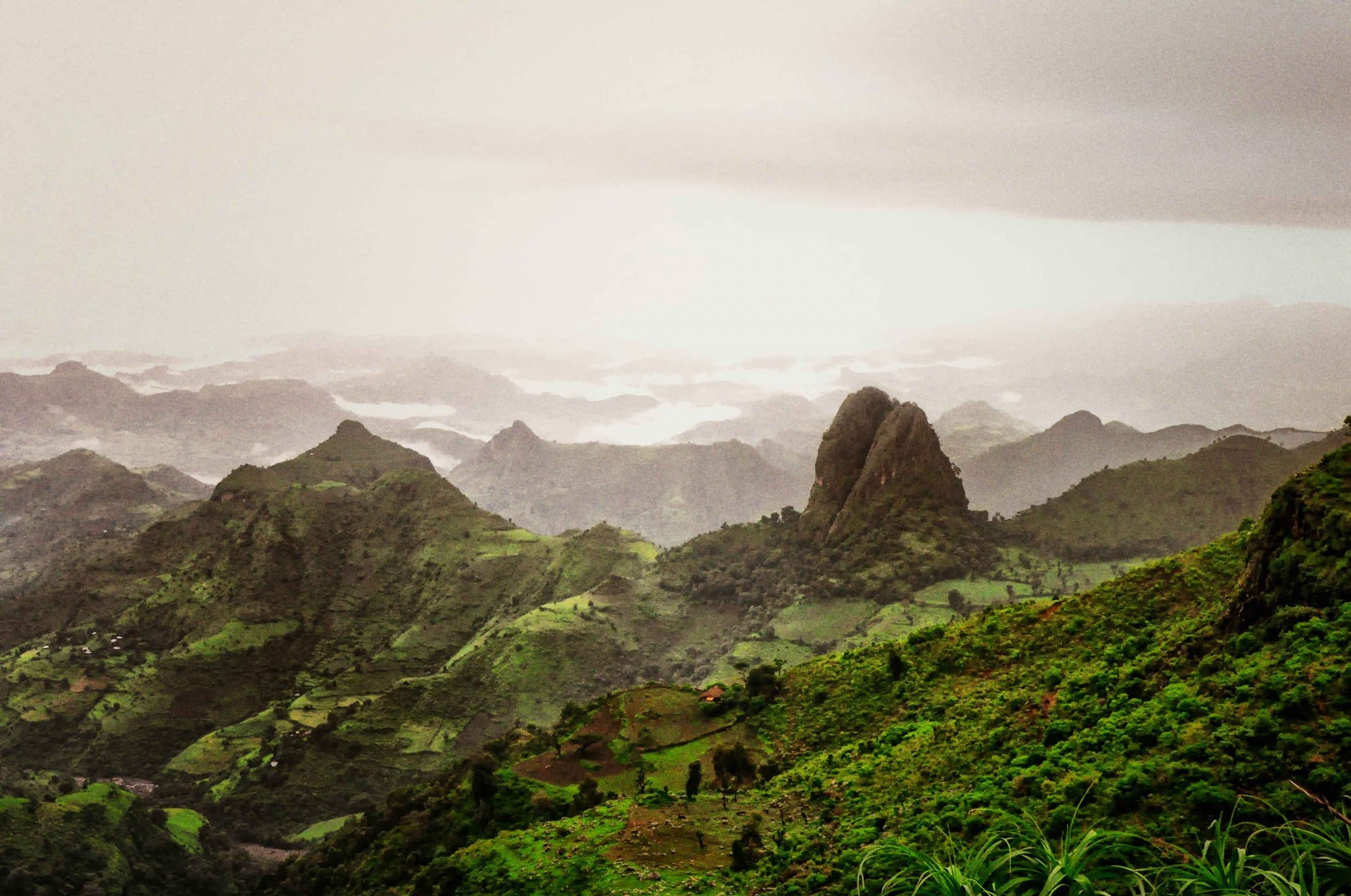 simien national park, Ethiopia