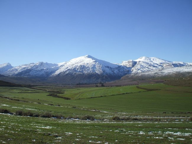 does it snow in Africa: Matroosberg Mountain