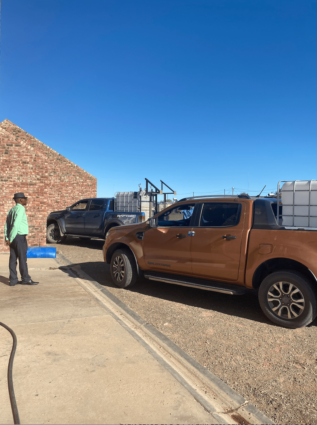 #DrivesWithAMission Ford South Africa